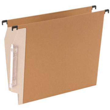 Carpeta colgante A4 bicolor visor lateral lomo 15