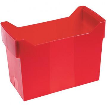 Cajetín de archivo suspendido ARCHIBOX 170x365x260 rojo No incluye carpetas.