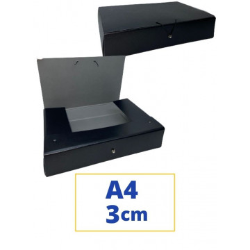CARP. PROJECTES A4 030x340x250mm NEGRE