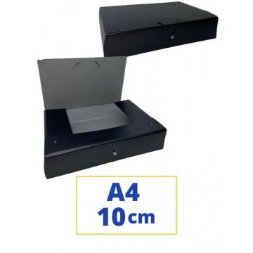CARP. PROJECTES A4 100x340x250mm NEGRE