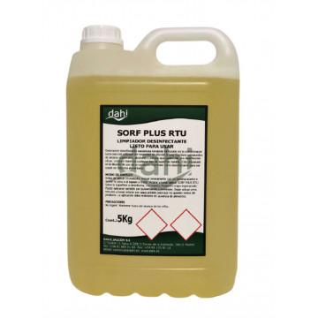 Limpiador desinfectante 5l Sorf RTU
