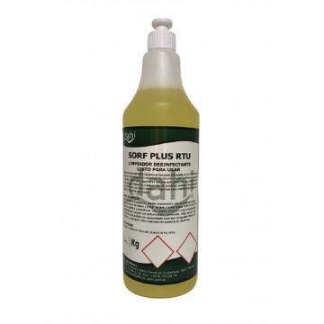 Limpiador desinfectante 1l Sorf RTU