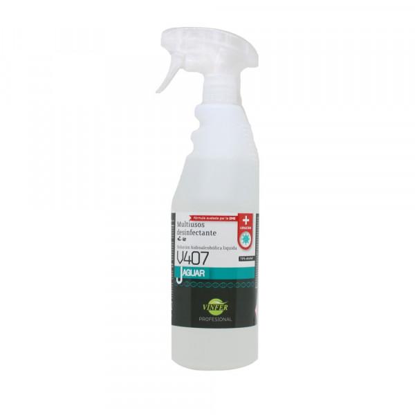 Virucida hidroalcoh¢lico 750ml botella con pulveri