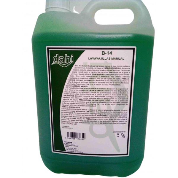 Lavavajillas manual 5L garrafa