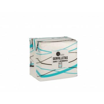 Servilleta celulosa 1 capa 30x30 100 un. caja 48 p