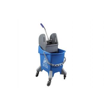 Cubo limpieza monoseno 32l con prensa azul hccp