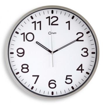 Reloj analógico 30 cm. color Plata Archivo 2000