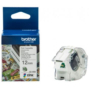 ETIQUETES BROTHER COLOR (012x500) Continu CZ1002 (VC500)