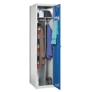 Taquilla 1 puerta doble espacio interior módulo continuación gri