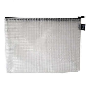 Bolsa Multiusos con cremallera B5- 285 X 225 mm negra Office Box