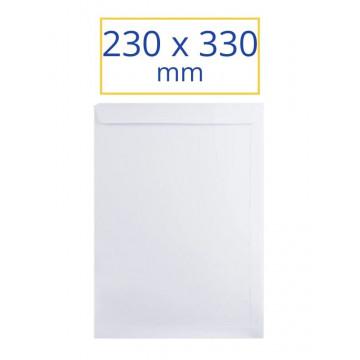 SOBRE BLANC 230x330 DIN-A4 (100u)                          (ABO)