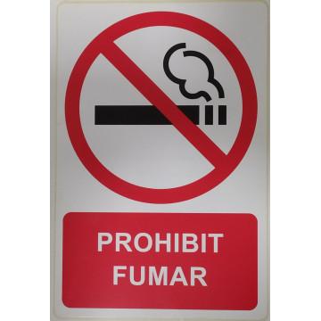 ETIQUETA ICONO 12x18 PROHIBIT FUMAR (2u)                   (ABO)
