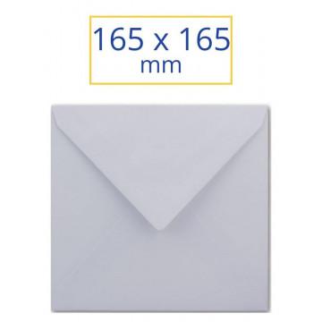 SOBRE BLANC ADH. 165x165 CUADRAT (100u) CHR
