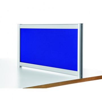 Separador acústico 40x140 cm. tela azul Basic Plan