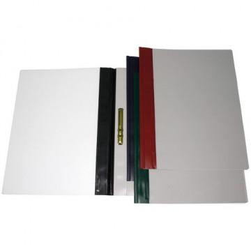 Dossier fastener A4 PVC 150 micras lomo Granate