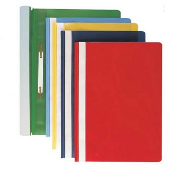 Dossier fastener folio PP herraje Tarjetero lomo negro Grafoplas