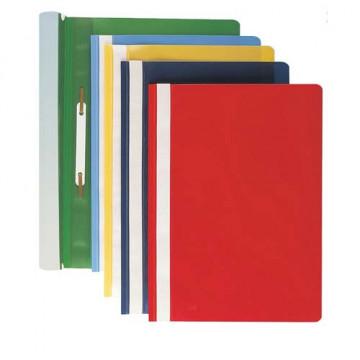 Dossier fastener folio PP herraje Tarjetero lomo rojo Grafoplas