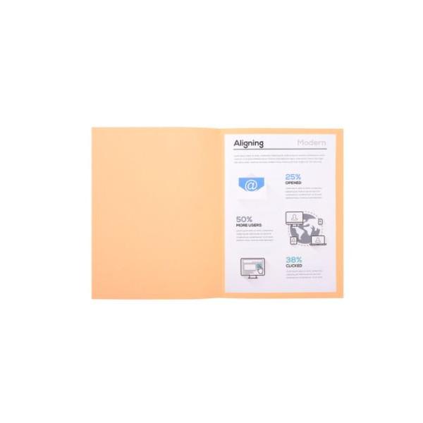 SUBCARPETA A4 (235x312) CREMA PASTEL  180gr