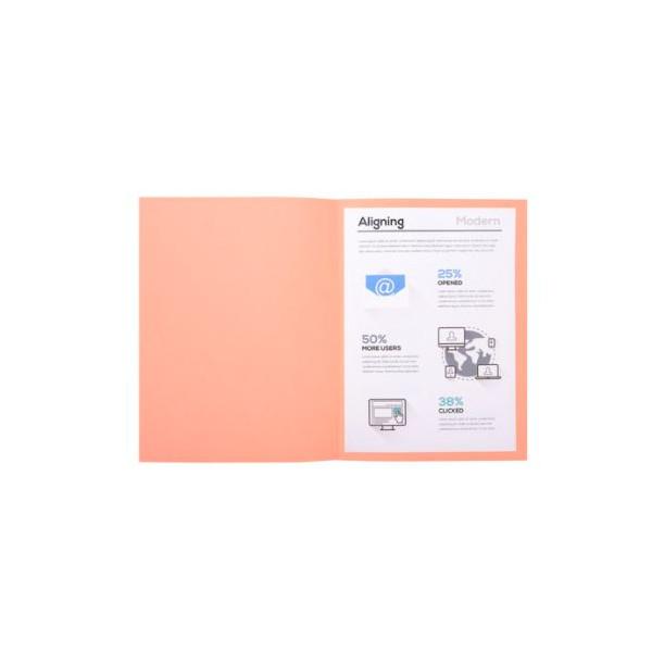 SUBCARPETA A4 (235x312) ROSA PASTEL 180gr