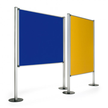 Mampara Tapizada Azul 120 x 150 cm. Planning Sispl