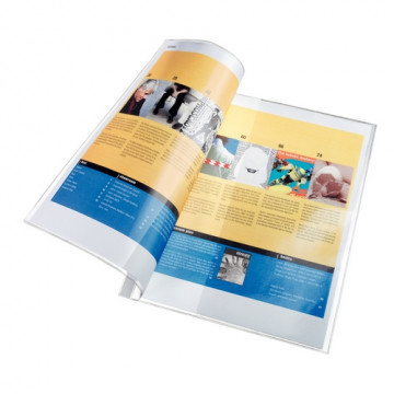 Funda multitaladro A4 PVC 170 micras para catálogo