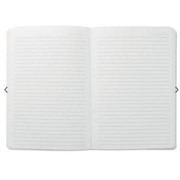 DIARI (140x200) JEAJ A5 RATLLA NEGRE BRILLANT TAPA FLEXIBLE