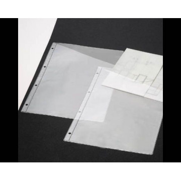FUNDA PORTA PLANELLS A4 4T. 100 MICRAS (75u.)              (ABO)