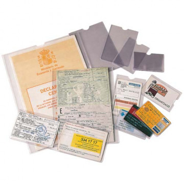FUNDA PLASTIC 326 x 458 FOLI DOBLE