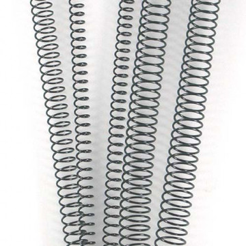 CANUTO ESPIRAL METALIC (4:1 10 mm 60 FULLS) NEGRE          (ABO)