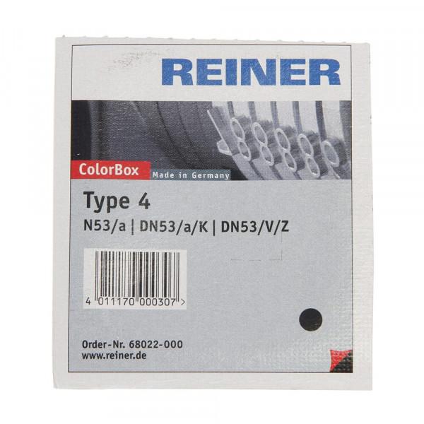 REC. TAMPO REINER TYPE 4 (N53/DN53/D53) NEGRE