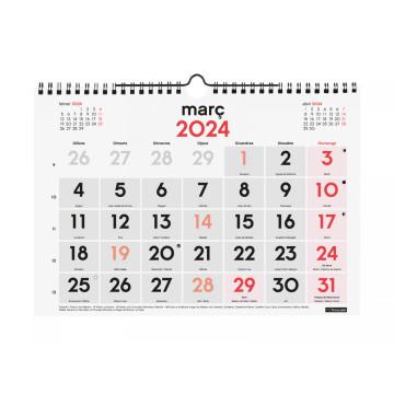 CALENDARI PARED ESP. M/V 300x210 CAT FINOCAM ANY 2022