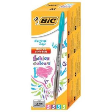 BOLI BIC 1,6mm FASHION (ASSORTITS TINTA PASTEL) (20u)