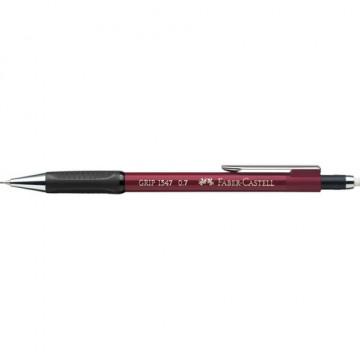 Portaminas 0,7 mm TK Fine Grip retráctil rojo Faber-Castell