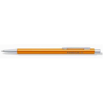 Portaminas 0.7 mm Organizer Pen aluminium naranja Staedtler Prem