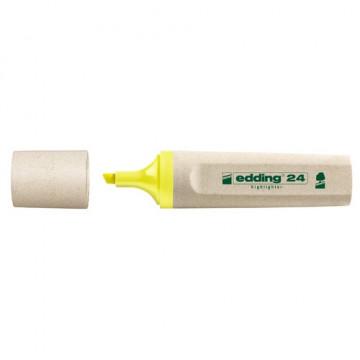 Marcador fluorescente amarillo Edding 24 Ecoline