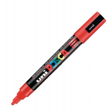 RET. POSCA PINTURA 1,8-2,5mm PC5M VERMELL