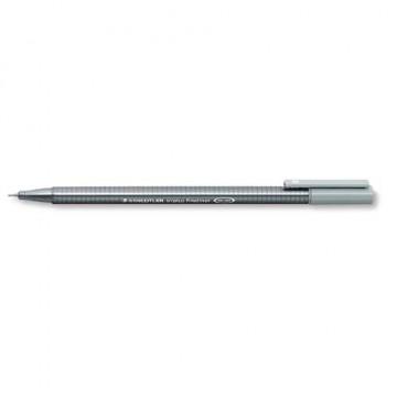 ZZ Rotulador Triplus fineliner,plata