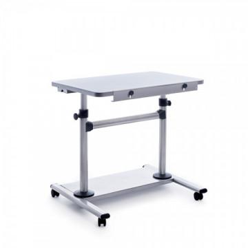Mesa móvil ajustable altura inclinacion aluminio