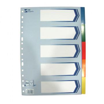 SEP.  5 POS. PLASTIC OPAC (229x315) FOLI     (ABO)