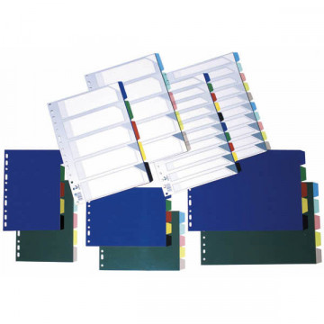SEP.  5 POS. PLASTIC TRANSP.(225x297) DIN-A4