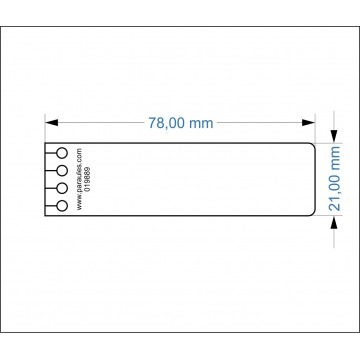 SEP. QUADERN 078x021 16º (5 POSICIONS)