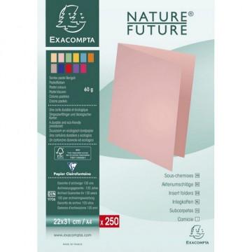 SUBCARPETA A4 (220x310) PAPER 60gr ASSORTIT (250u)