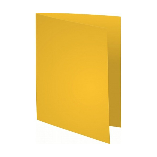 Subcarpeta A4 papel 60 gr amarillo 250 un. Super 60 Exacompta