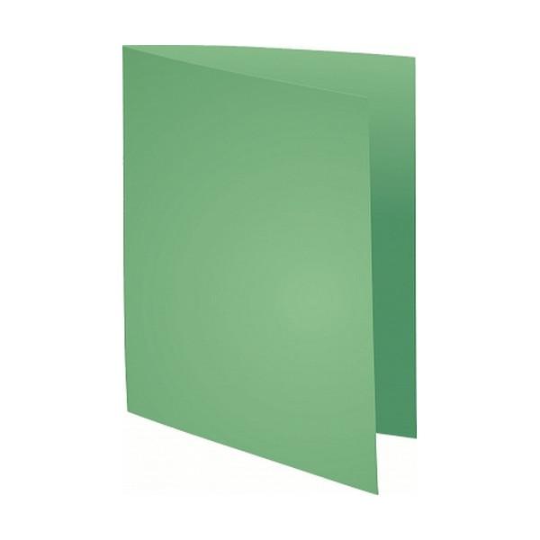 Subcarpeta A4 papel 60 gr verde prado 250 un. Super 60 Exacompta