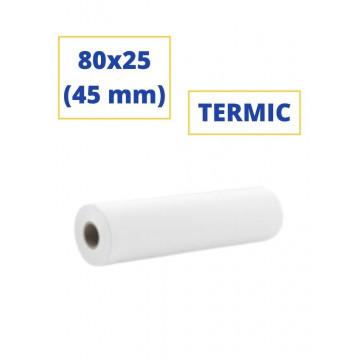 ROTLLO SUMADORA TERMIC  80x25 (45 mm)(SENSE BISFENOL)