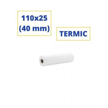 ROTLLO SUMADORA TERMIC 110x25 (40 mm)(SENSE BISFENOL)