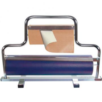 Portarrollos mostrador 2 bobinas 62 y 31 cm.