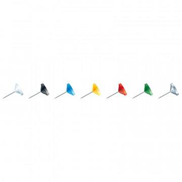 AGULLES CAP PLA 08x08 ASSORTIDES (050u)