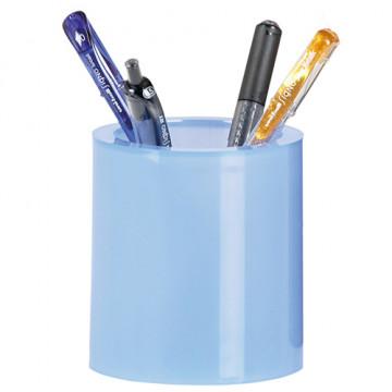 CUBILET LLAP. PLASTIC DOBLE TRANSLUCID BLAU