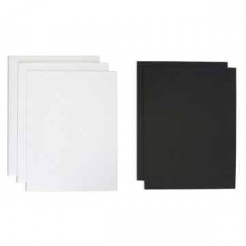 Cartón Pluma 5mm 70x100cm blanco Grafoplas